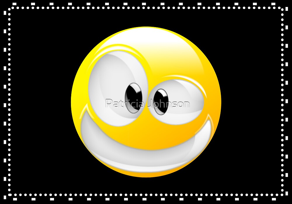 Smiley Face by Patricia Johnson