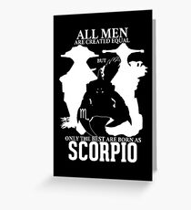 Only the best men are born Scorpio - Dota 2 Greeting Card