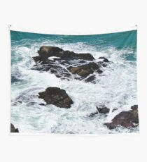 White Ocean Wall Tapestry