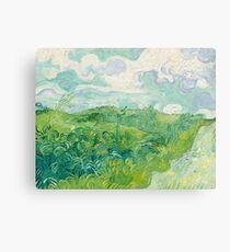 Vincent Van Gogh Green Wheat Fields, Auvers 1890  Canvas Print