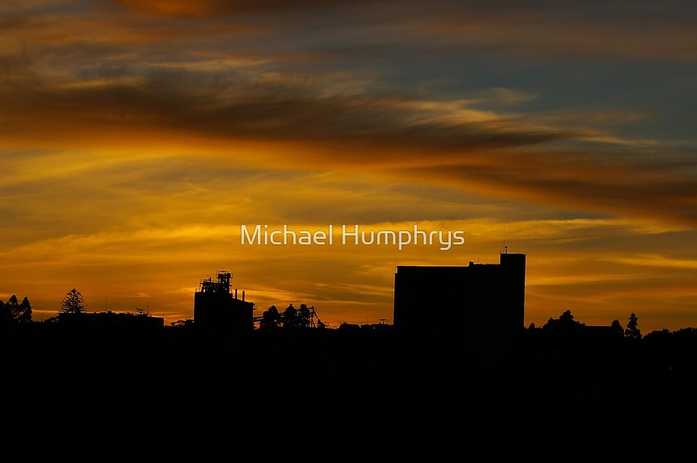 Murray Bridge At Dusk by Michael Humphrys