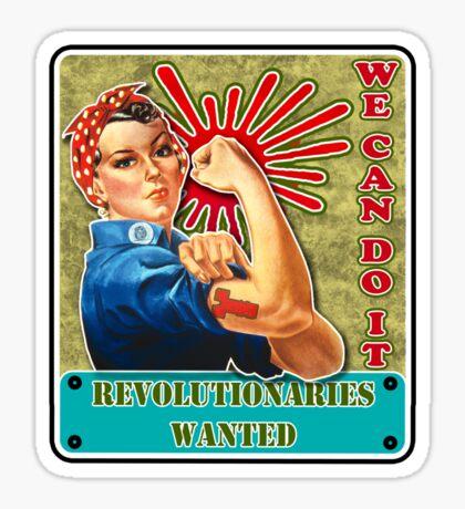 Get Riveted! Sticker