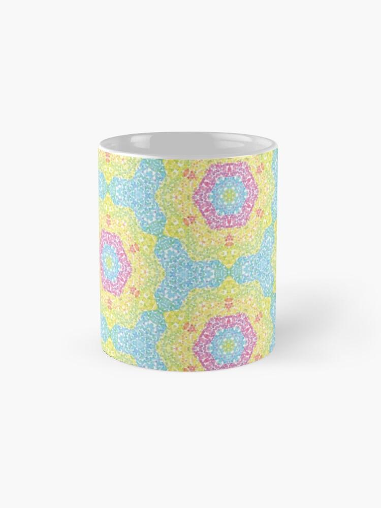 Alternate view of Pointilize Rainbow Burst Pattern Mug