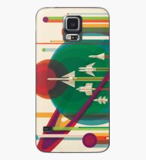 NASA Retro Space Travel Poster #5 Case/Skin for Samsung Galaxy