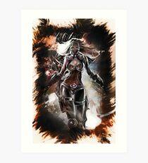 League of Legends NIGHTBLADE IRELIA  Art Print