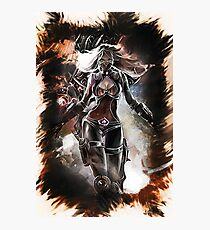 League of Legends NIGHTBLADE IRELIA  Photographic Print