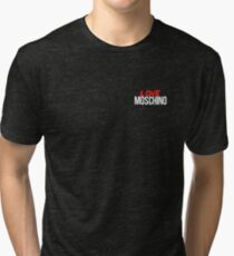 designer moschino t shirt Tri-blend T-Shirt