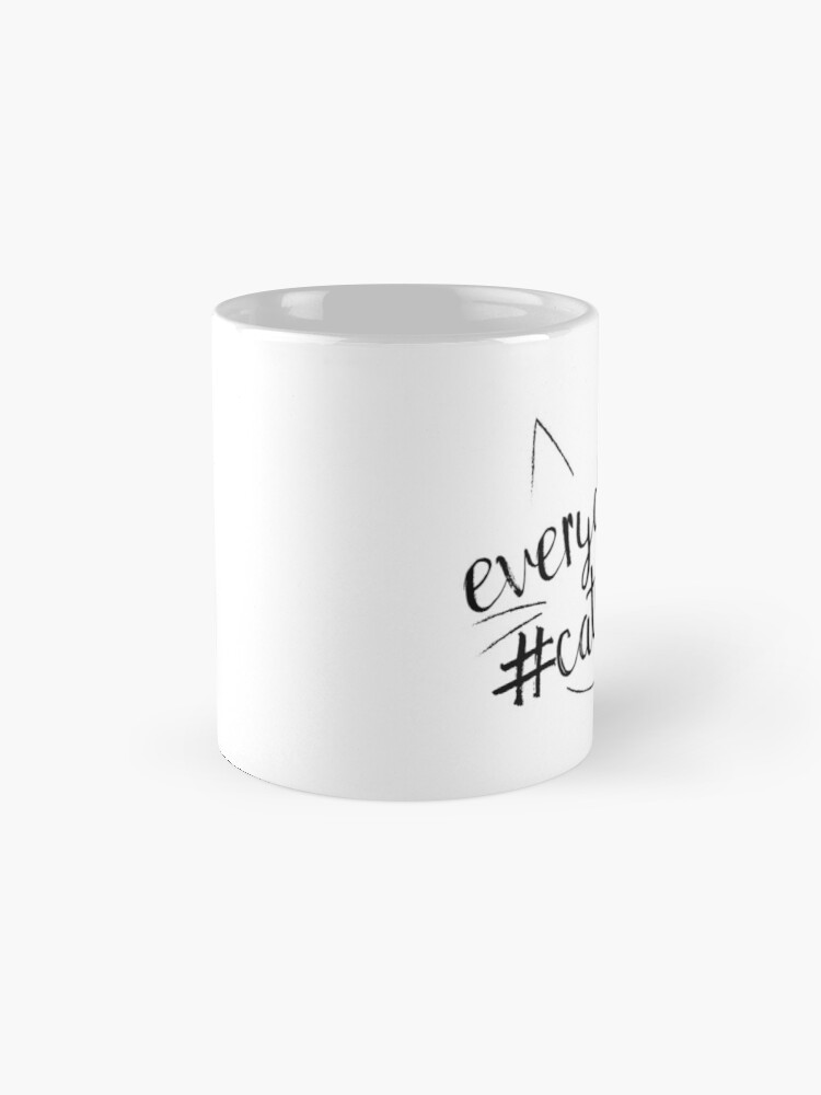 Alternate view of Everyday is #Caturday Mug