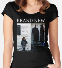Brand New - The Devil and God Are Raging Inside Me Women's Fitted Scoop T-Shirt