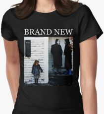Brand New - The Devil and God Are Raging Inside Me Women's Fitted T-Shirt