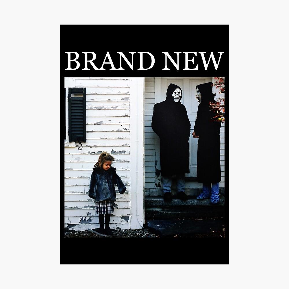 Brand New - Der Teufel und Gott sind in mir wütend Fotodruck