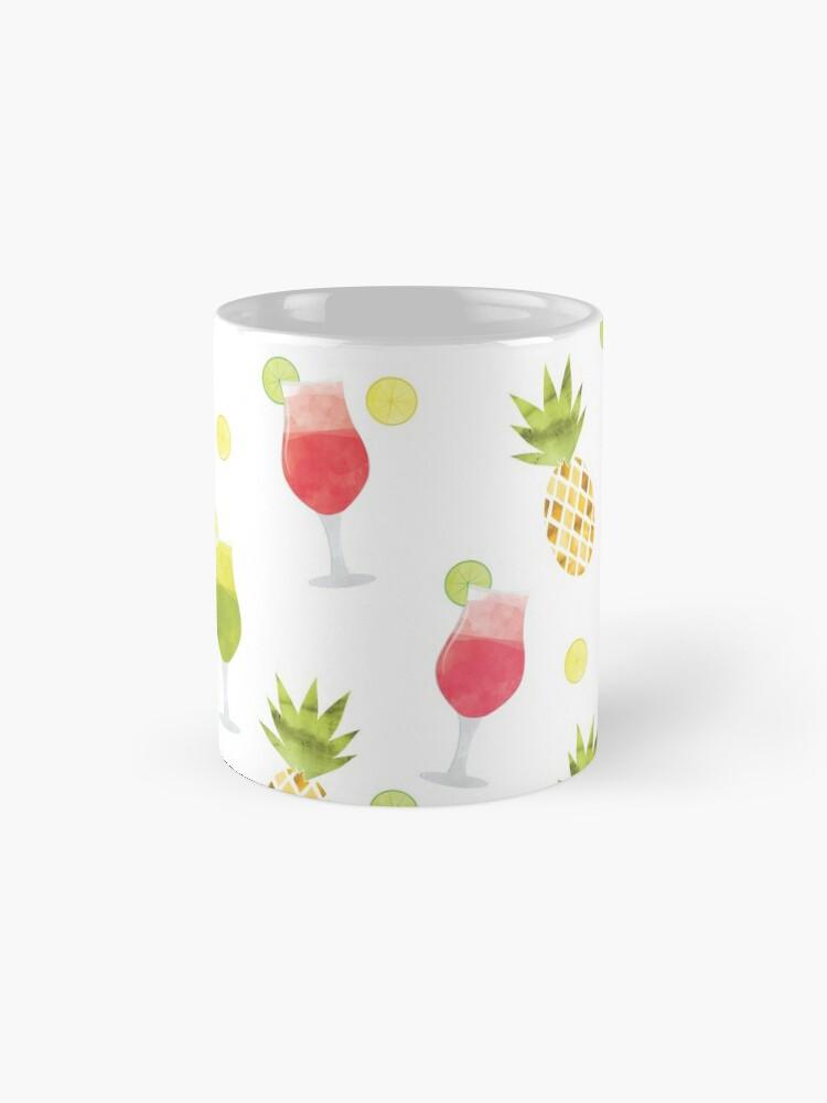 Alternate view of Tasty Tropical Summer Fruits Pattern Mug