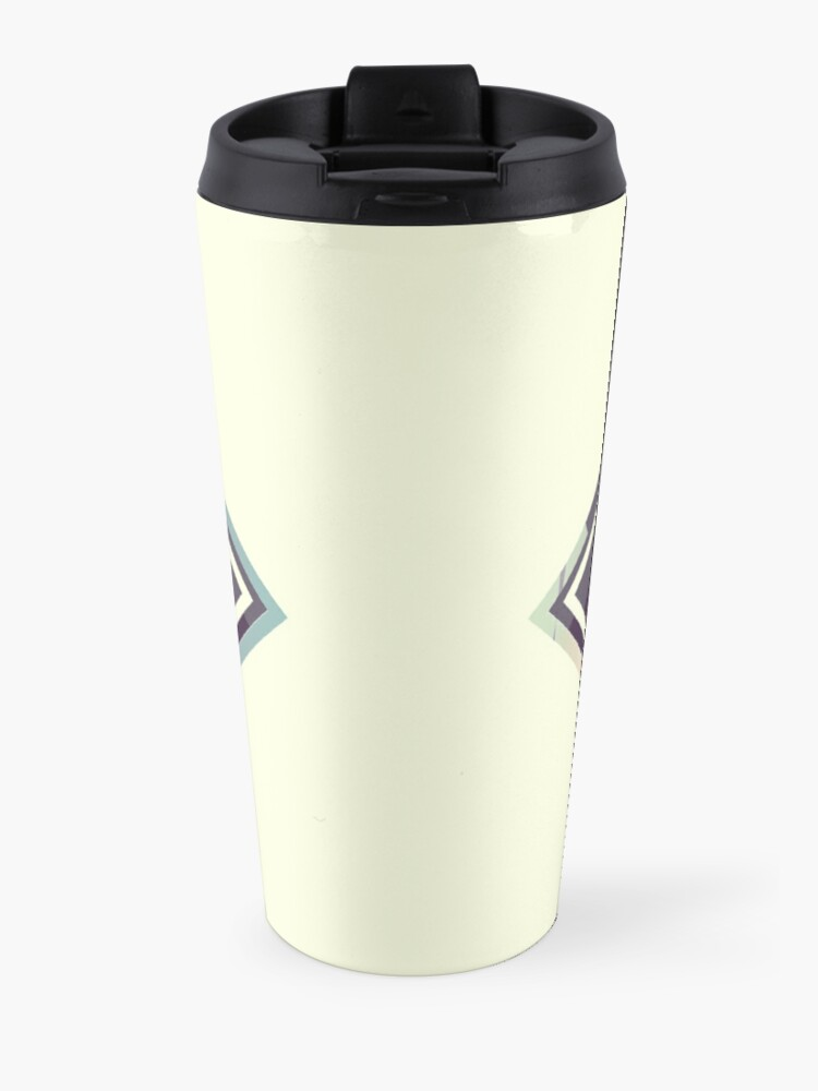 Alternate view of Reflective Lake & Mountains Sunset Travel Mug