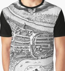 Aerial view of the Old City Bern Graphic T-Shirt
