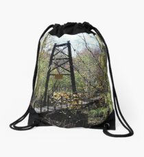 Old Bridge Drawstring Bag