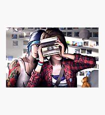 Max & Chloe - Smile - Life is Strange  Photographic Print