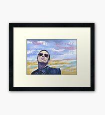 Break Free Framed Print