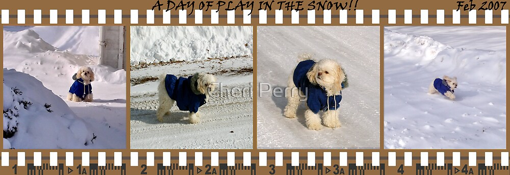 A Day At Play In The Snow by Cheri Perry