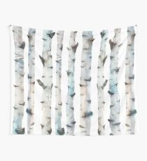 Birch trees Wall Tapestry