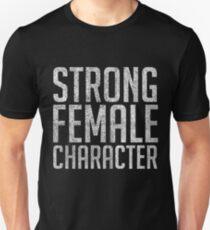 Strong Female Character Feminism T-Shirt