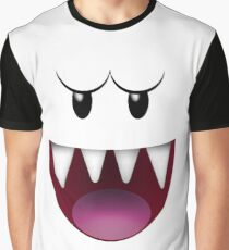Super Mario Boo  Graphic T-Shirt