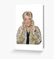 Bet Lynch Greeting Card