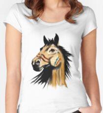 Mesteño Women's Fitted Scoop T-Shirt