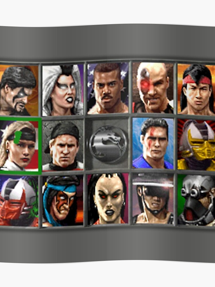 Mortal Kombat 3 Character Select | Poster