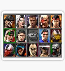 Mortal Kombat 3 Stickers | Redbubble