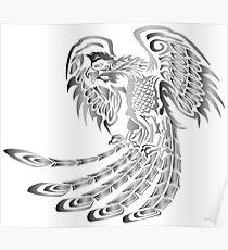 Silver Phoenix Rising Poster