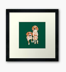 Gracie and  George  Framed Print