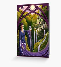 Elven Village Greeting Card