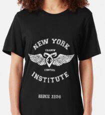 New York Institute Slim Fit T-Shirt