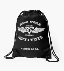 New York Institute Drawstring Bag