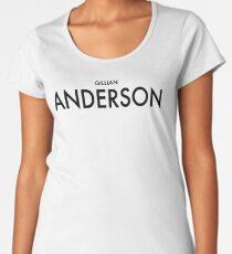 Gillian Anderson Women's Premium T-Shirt