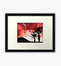 Enjoy A Little Framed Print