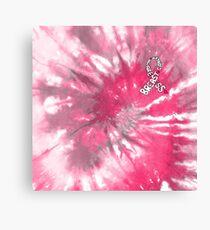 Breast Cancer Awareness Ribbon Canvas Print