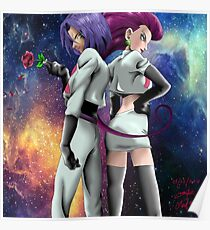 jessye and james pokemon Poster