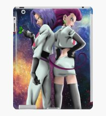 jessye and james pokemon iPad Case/Skin