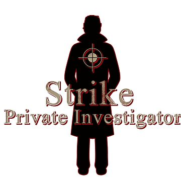 C. B. Strike - Private Investigator by burketeer