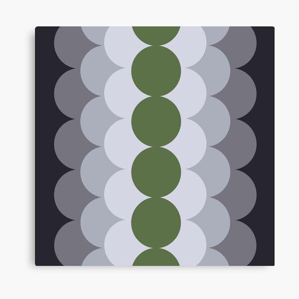 Gradual Kale  Canvas Print