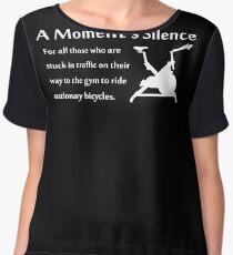 A Moment's Silence Women's Chiffon Top