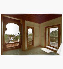 Shaniwar Wada - Perspective of historic art Poster