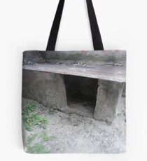 old broken small hut Tote Bag
