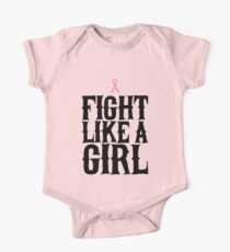 Fight Like A Girl - Cancer Awareness Kids Clothes