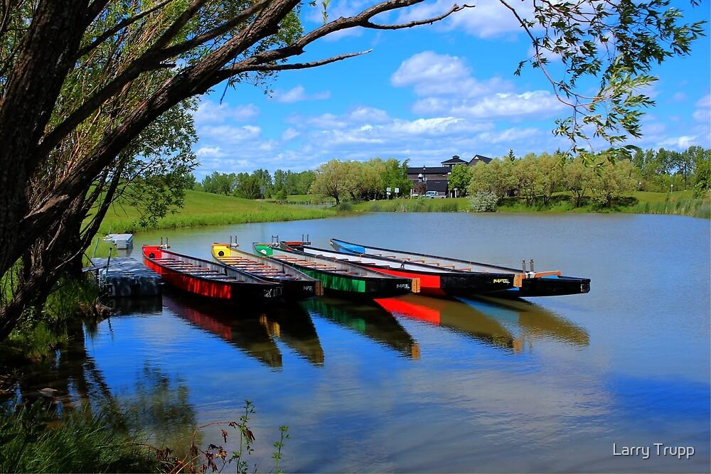 Drag Boats by Larry Trupp