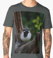 Black-throated Sparrow The Bandit Men's Premium T-Shirt