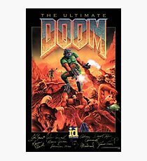 The Ultimate DOOM - Signature Edition Photographic Print