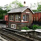 Signal Box at Goathland by Trevor Kersley