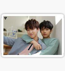 Seventeen's Jun and Minghao Sticker